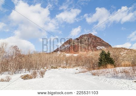 Showa Shinzan, New Mountain Created From Volcanic Eruption In 1943