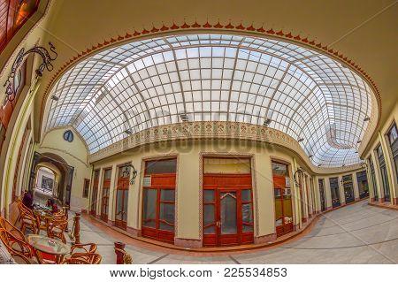 Black Eagle Palace And Glass Covered Passage, Oradea, Romania