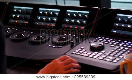 Telecine Controller Machine For Edit Color On Digital Video