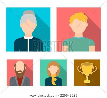 Redheaded Teenager, A Woman With A Scarf, A Gray-haired Grandmother, A Grandfather With A Beard.avat