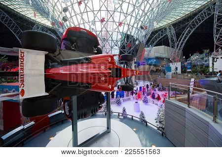 Interior Of Ferrari World