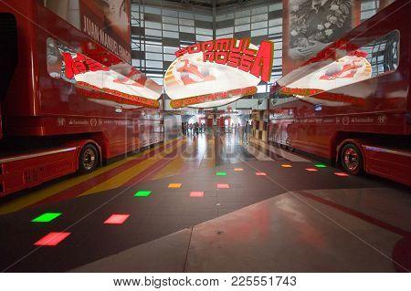 Interior Of Ferrari World