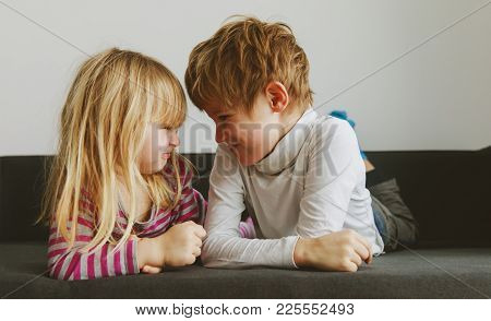 Brother And Sister Rivalry, Dispute, Anger, Disagreement, Quarrel