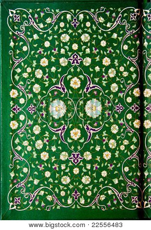 Hand made binding cover of  Holy Quran