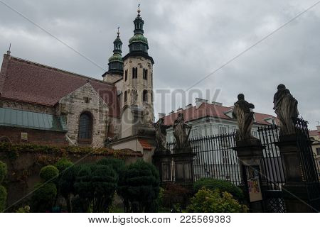 St. Andrews Church In Old Town Of Krakow