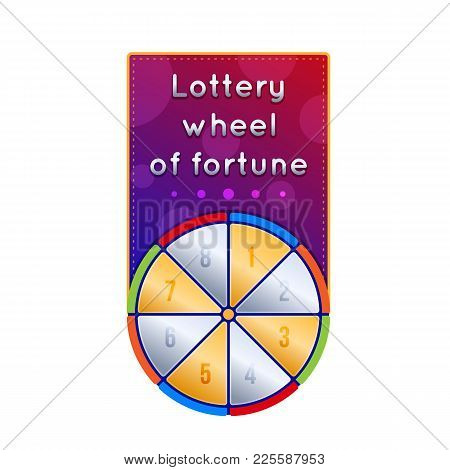 Lottery Ticket For Drawing Money And Prizes. Ticket For Event, Financial Success, Growth, Luck, Mone