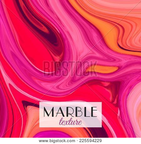 Marbling. Marble Texture. Artistic Abstract Colorful Background. Splash Of Paint. Colorful Fluid. Br