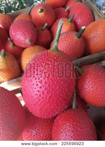 Fresh gac fruit