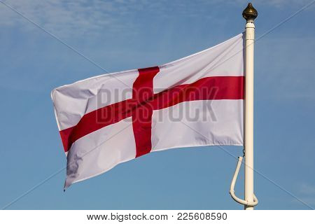 The Flag Of Saint George - Recognised Around The World As The Flag Of England.