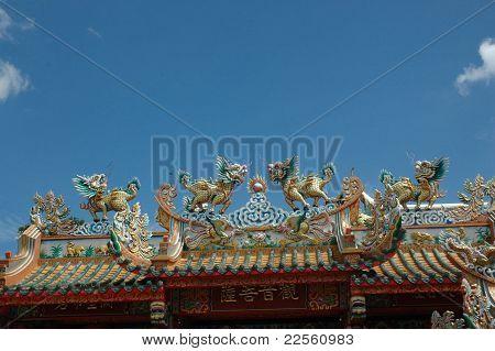 chinese shirine