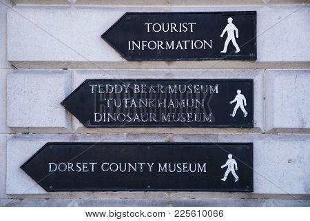 Dorchester, Uk - August 15th 2017: Local Landmarks And Sights In Dorchester, Dorset, Uk, On 15th Aug