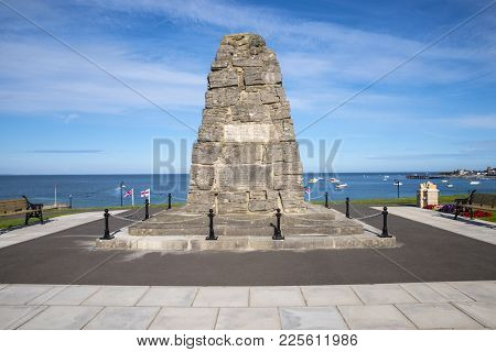 Swanage, Uk - August 16th 2017: War Memorial In Swanage Dedicated To The 26th Infantry Regiment Of T