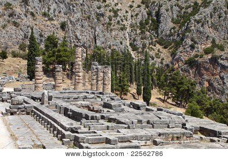 Temple of Apollo at Delphi, Greece