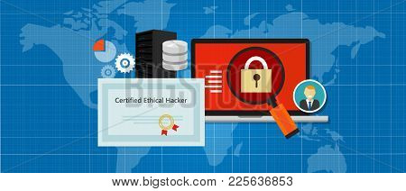 Certified Ethical Hacker Security Expert In Computer Penetration Consulting Company Education Paper