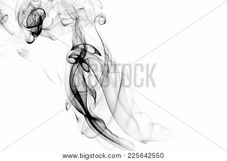 Smoke design / Smoke is a collection of airborne solid and liquid particulates and gases emitted whe