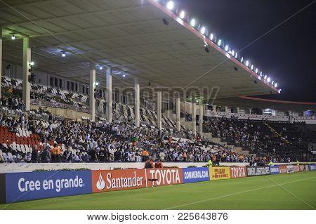Rio, Brazil - February 07, 2018: Stadium View In Match Between Vasco And Universidad De Concepcion B