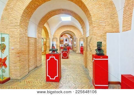 Interior Bullfighting Museum Of The Real Maestranza De Caballeri