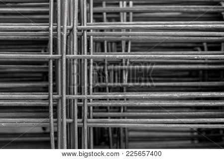 Industrial Construction Building Wire Mesh On Floor Concrete