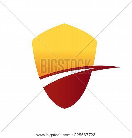 Shield Hill Lane Abstract Corporate Symbol Vector Illustration Graphic Design