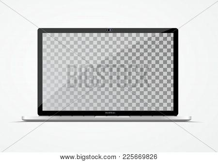 Modern Ultra Thin Laptop.