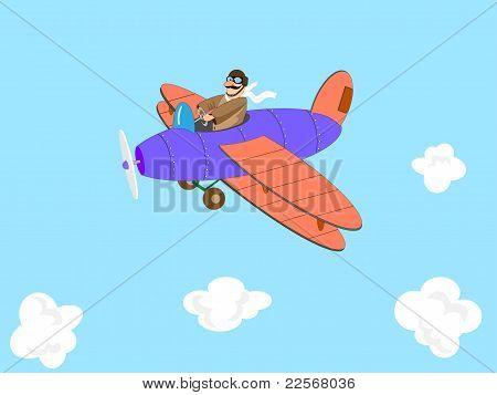 Cartoon Aviator