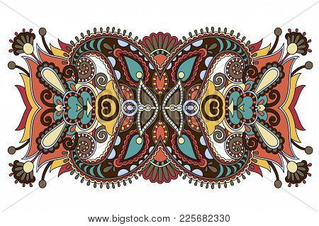 Indian Ethnic Floral Paisley Pattern Perfect To Mobile Phone Cover Design, Or Printing To Greeting C