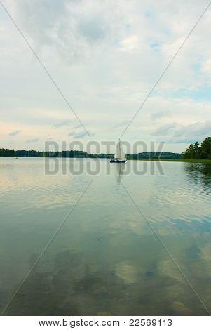 Galve lake, Trakai, Lithuania