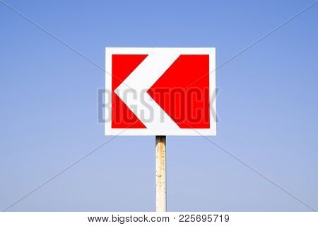 Road Sign. The Sign Of The Crossing.