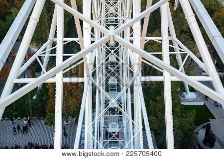 Rostov-on-don, Russia - Circa October 2016: The One Sky Ferris Wheel In Rostov-on-don, Popular Touri