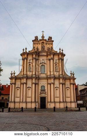Warsaw, Poland - June 12, 2012: Visitationist Church In Warsaw