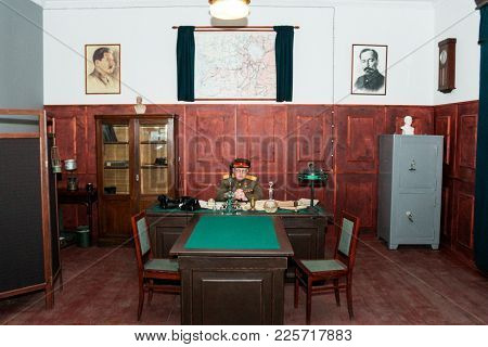 St. Petersburg, Russia - 7 May, The Interior Of The Nkvd Office Of The War Years, 7 May, 2017. Exhib
