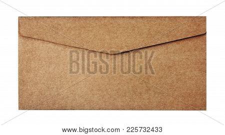 Vintage Craft Envelope For Business Correspondence