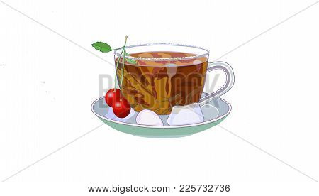 Useful Delicious Herbal Fruit Teas With Cherris
