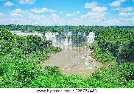 Waterfalls From Cataratas Do Iguacu
