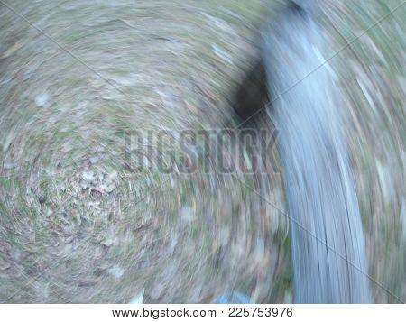 Abstract Photo Of World Spinning Around And Around