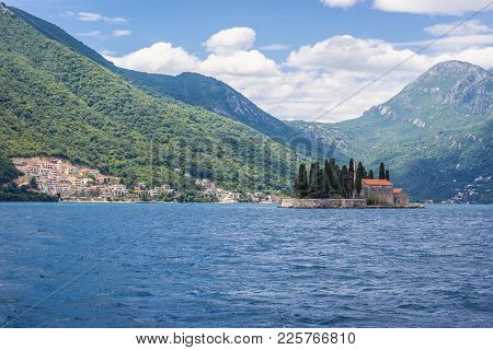 St George Islet In The Kotor Bay, Montenegro