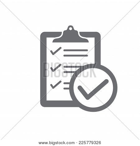 In Compliance - Icon Set That Shows Company Passed Inspection