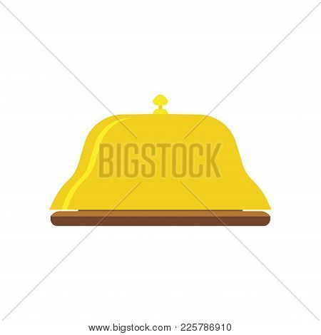 Bell Service Icon Hotel Vector Reception Concierge Illustration Sign Flat. Symbol Travel Isolated De
