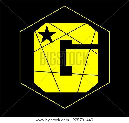 G Star Logo, For Clothing, Music And Banner