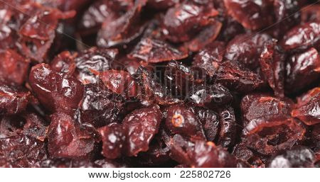 Stack of Dried cranberry