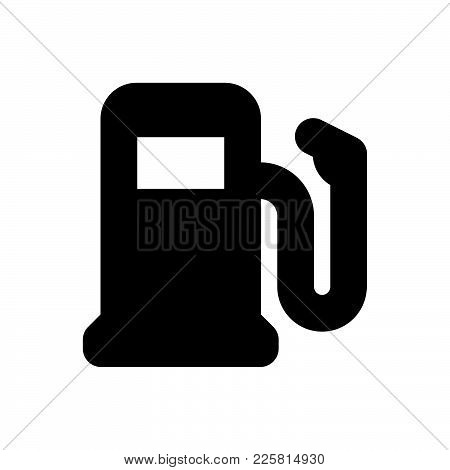 Fuel Icon Isolated On White Background. Fuel Icon Modern Symbol For Graphic And Web Design. Fuel Ico