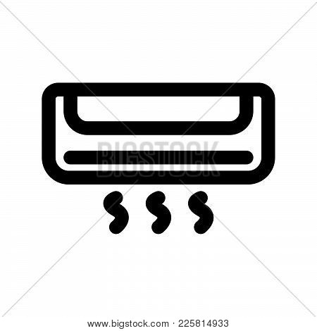 Air Conditioner Icon Vector Photo Free Trial Bigstock