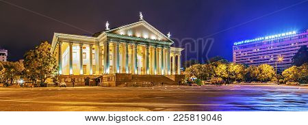 In 1937 The Construction Of The Winter Theater Was Over. 88 Columns Encircling The Building, Create