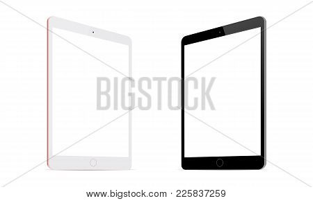 Tablet Computer Ipad Mini Screen Mockup With Perspective View To Showcase Your App Designs And Mobil