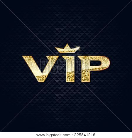 Vip abstract mosaic vector photo free trial bigstock vip abstract mosaic background golden glitter letters with crown good for premium invitation card poster flyer design spiritdancerdesigns Image collections
