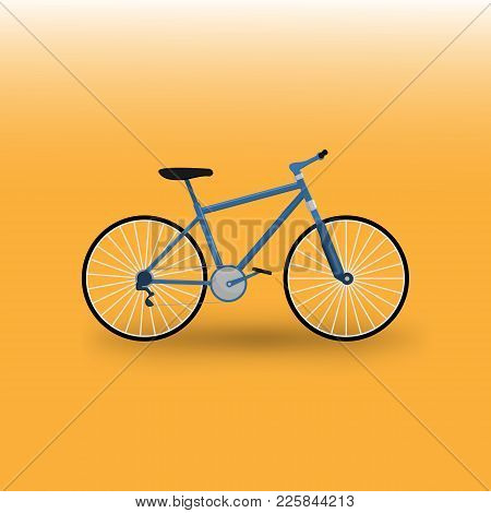 Moutain Bike Bicycle Vector Illustration Graphic Design