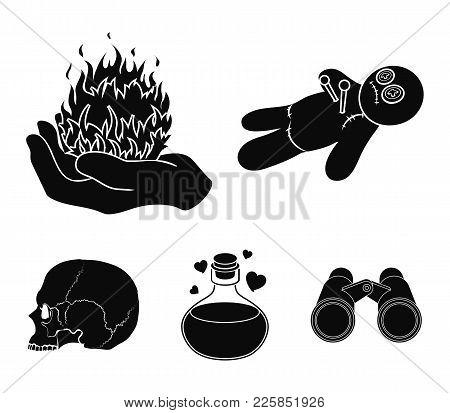 Voodoo Doll Magical Fire Love Vector Photo Bigstock
