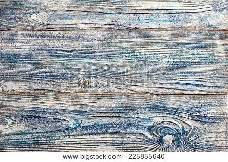 White Blue Paint On Old Wood Planks Wooden Boards Shuffled Worn Several Layers Of Cracked  Painted S