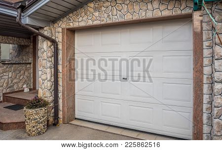 Garage Pvc Door, White Plastic Garage Door