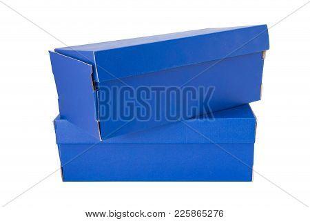 Blue Shoe Box